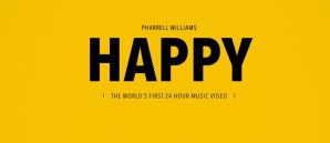 First 24-hour music video by Pharrell Williams.